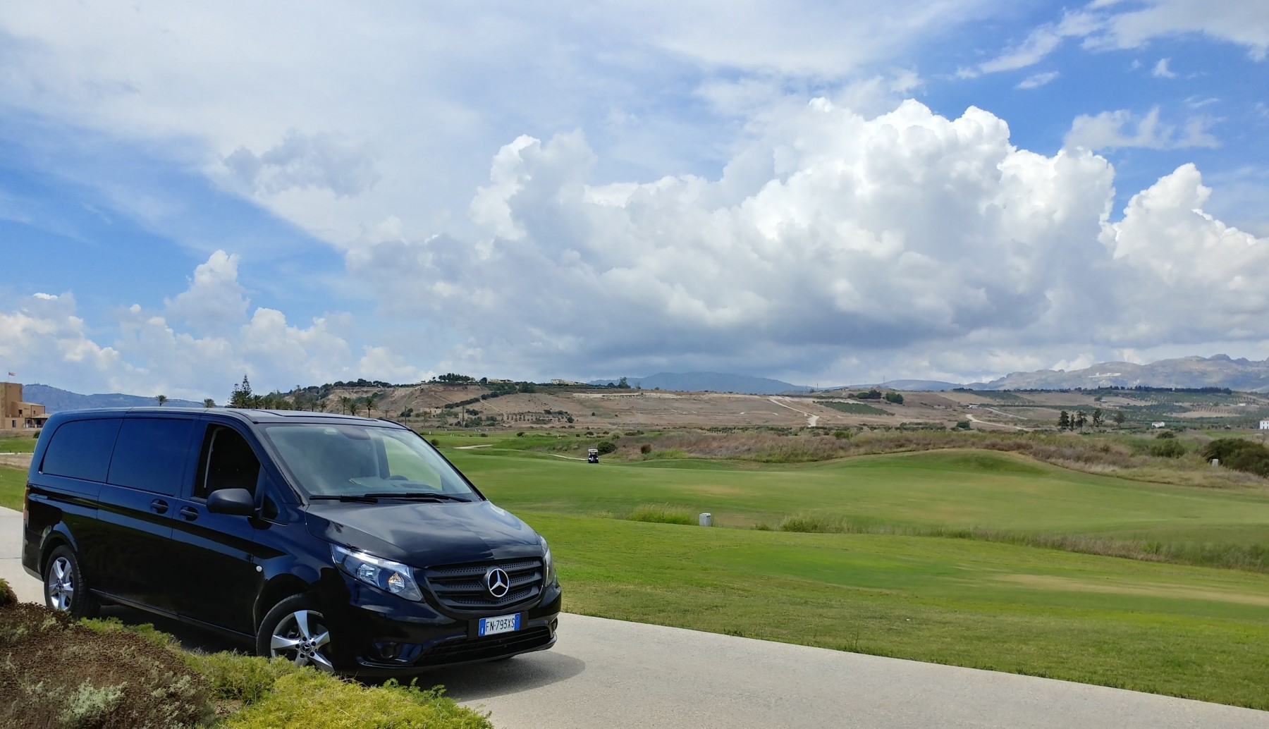 Playing golf in Sicily with Walk around sicily