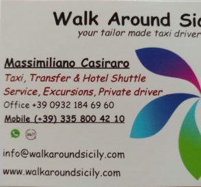 Walk Around Sicily your tailor made taxi driver in Sicily